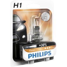 Philips H1 Vision 12V 55W - Bec Auto Far Halogen