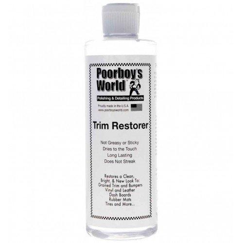 Dressing Plastice Poorboys World Trim Restorer 473ml