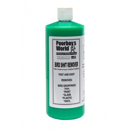 Solutie Inlaturare Excremente Poorboys World Bird Sh!t Remover,946ml