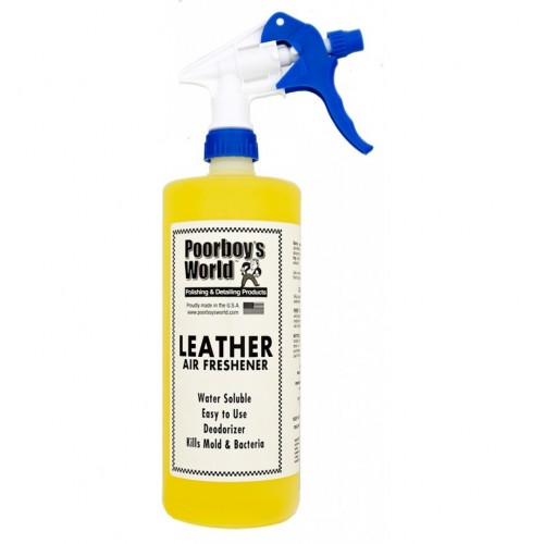 Odorizant Auto Poorboys Air Freshener - Leather,946ml