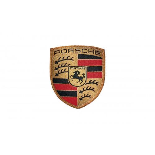 Emblema Ecuson Material Textil Porsche