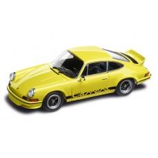 Macheta Auto Porsche Yellow 911 Carrera RS 2.7, 1:43