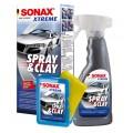 Sonax Xtreme Spray & Clay - Kit Decontaminare