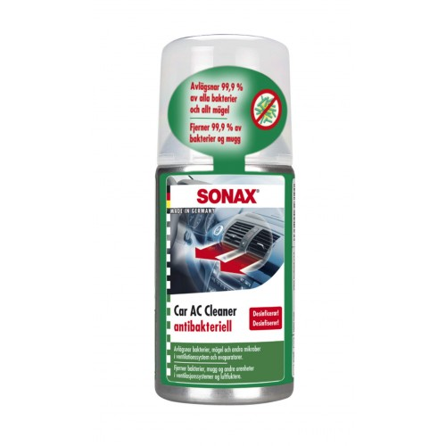 Sonax Car A/C Cleaner Anti-Bacterial - Solutie Curatare AC