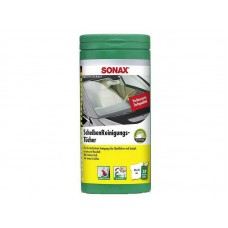 Sonax Glass Cleaning Wipes - Servetele Umede Curatare Geamuri