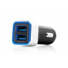Incarcator Auto Vetter Fast Car Charger 3.4A 2nd. Gen, 2xUSB Smart Port, Negru