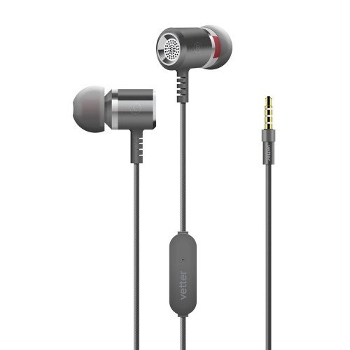 Casti audio Vetter Clear Sound 2nd Gen, In-Ear, Grey