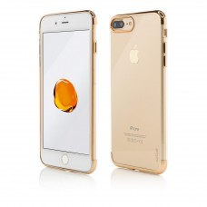 Husa Vetter iPhone 7 Plus, Clip-On Shiny Soft Series, Gold