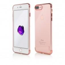 Husa Vetter iPhone 7 Plus, Clip-On Shiny Soft Series, Rose Gold