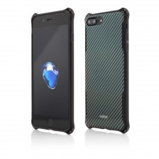 Husa Vetter iPhone 7 Plus, Clip-On Hybrid Xtra Protection, Carbon Look
