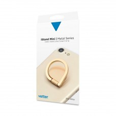 Suport Universal Vetter iStand Mini, Desk Stand & Smart Grip, Metal Series, Gold