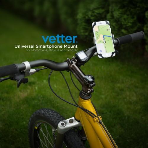 Suport Universal Bicicleta Smartphone Vetter Universal Bike Mount,Aluminum Slim
