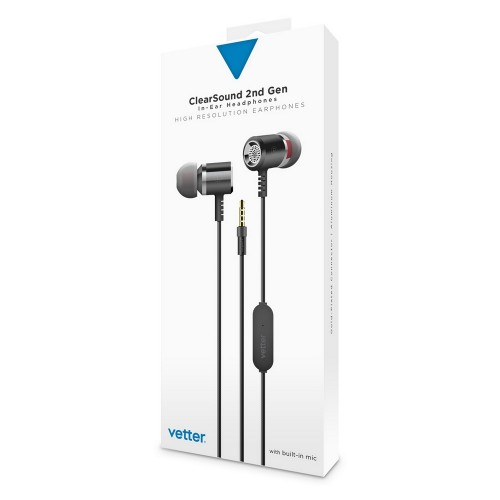 Casti audio Vetter Clear Sound 2nd Gen,In-Ear,Grey