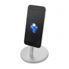 Stand Telefon Vetter iStand, Sync and Charge, Lightning Ready, Silver