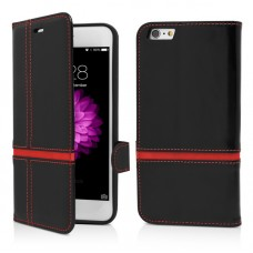 Vetter Husa Protectie Flip Book iPhone 6 Plus, Red