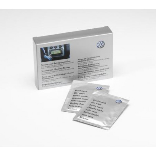 VW Monitor Screen Wipes - Servetele Curatare Ecran Navigatie